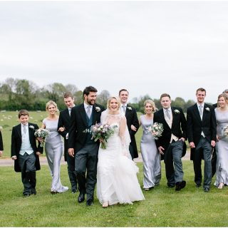 bride-and-groom-with-bridal-party