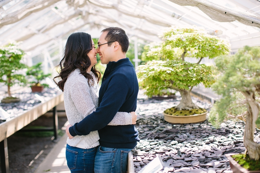 Kew-Gardens-Engagement-Photography