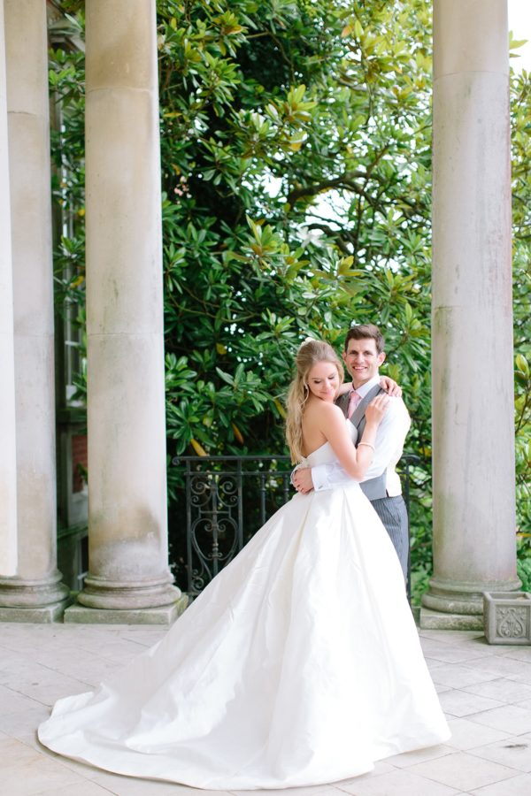 Romantic, elegant, timeless wedding portrait by Stansted House wedding photographer Camilla Arnhold