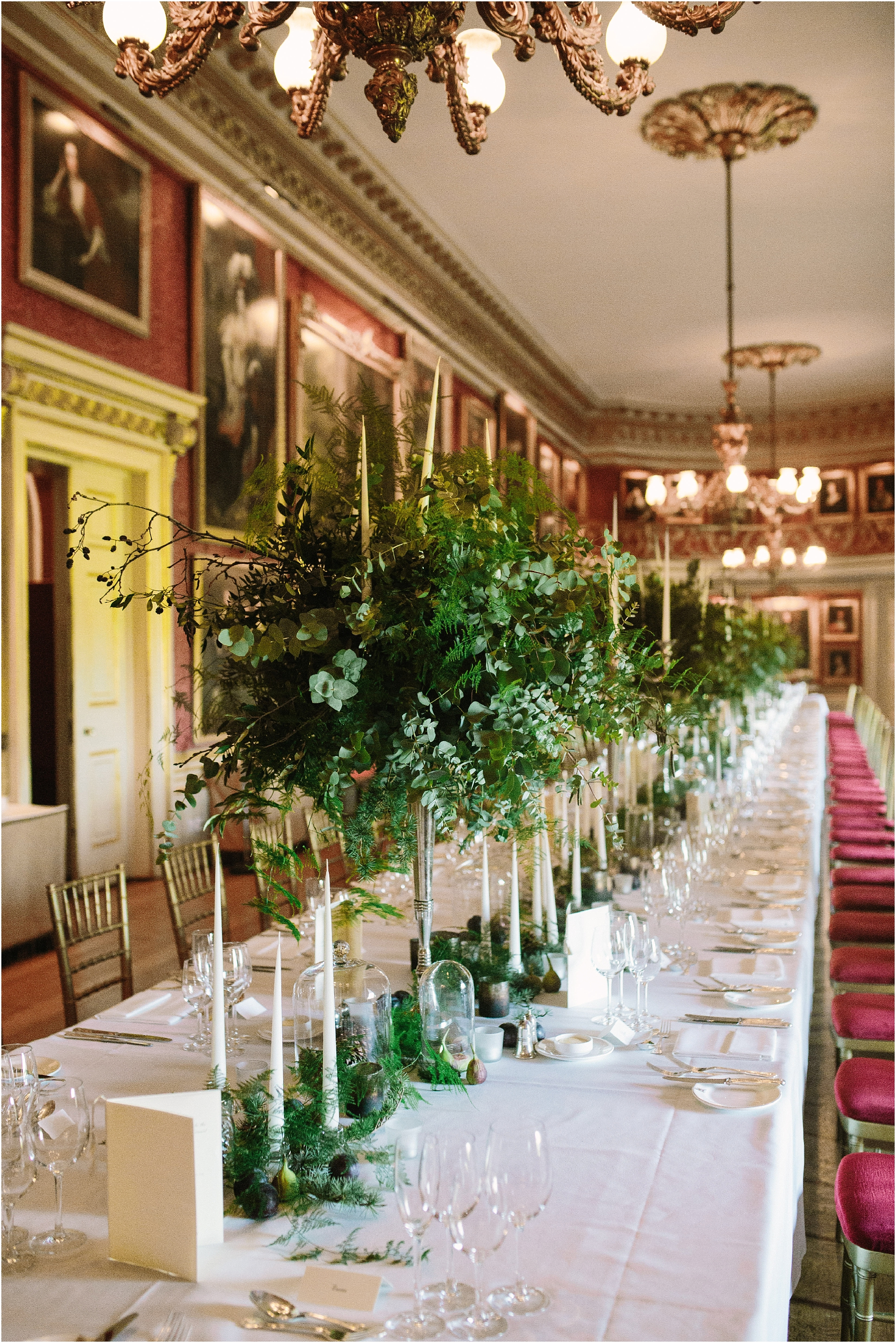 Wedding breakfast at Goodwood House
