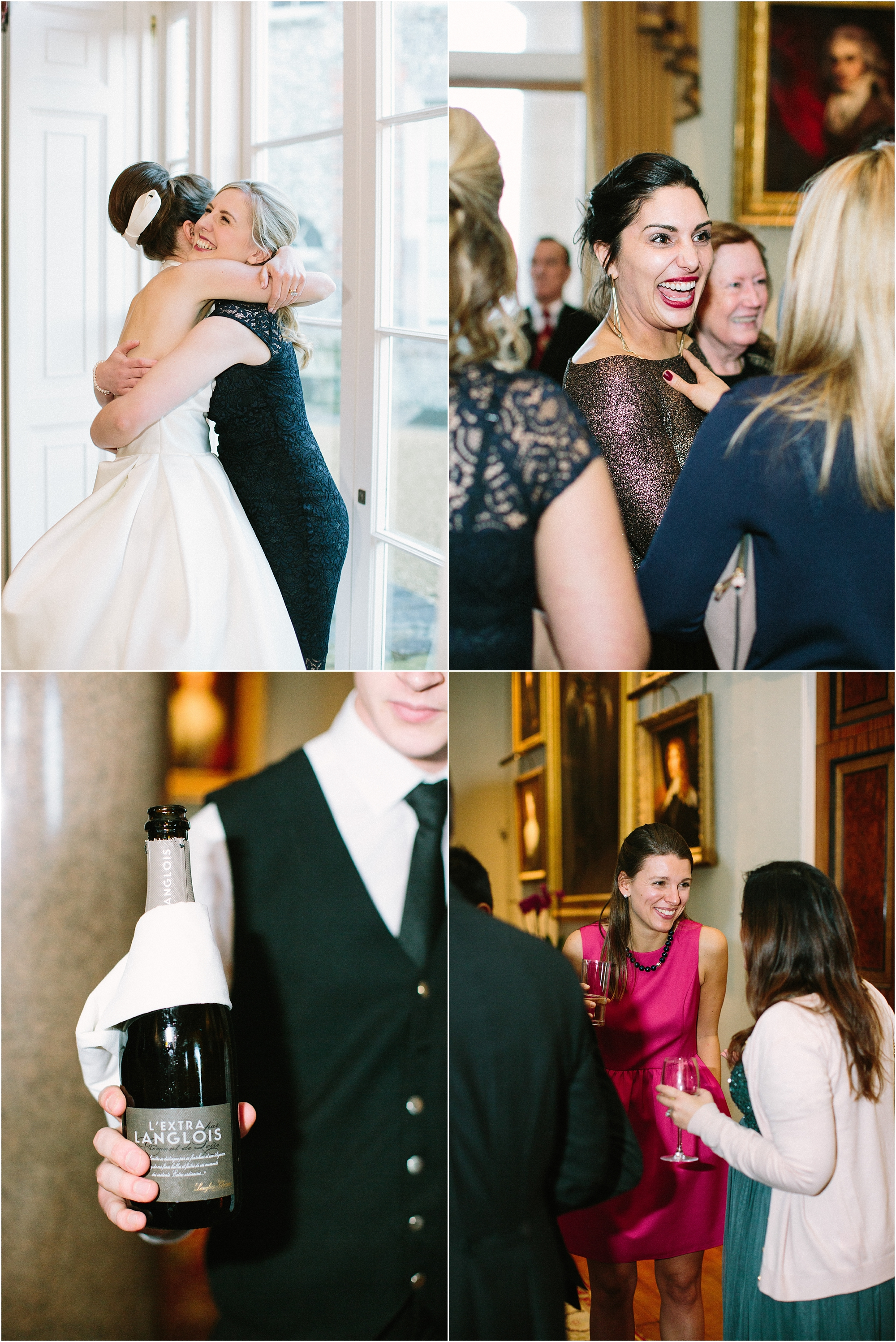 Wedding reception at Goodwood House