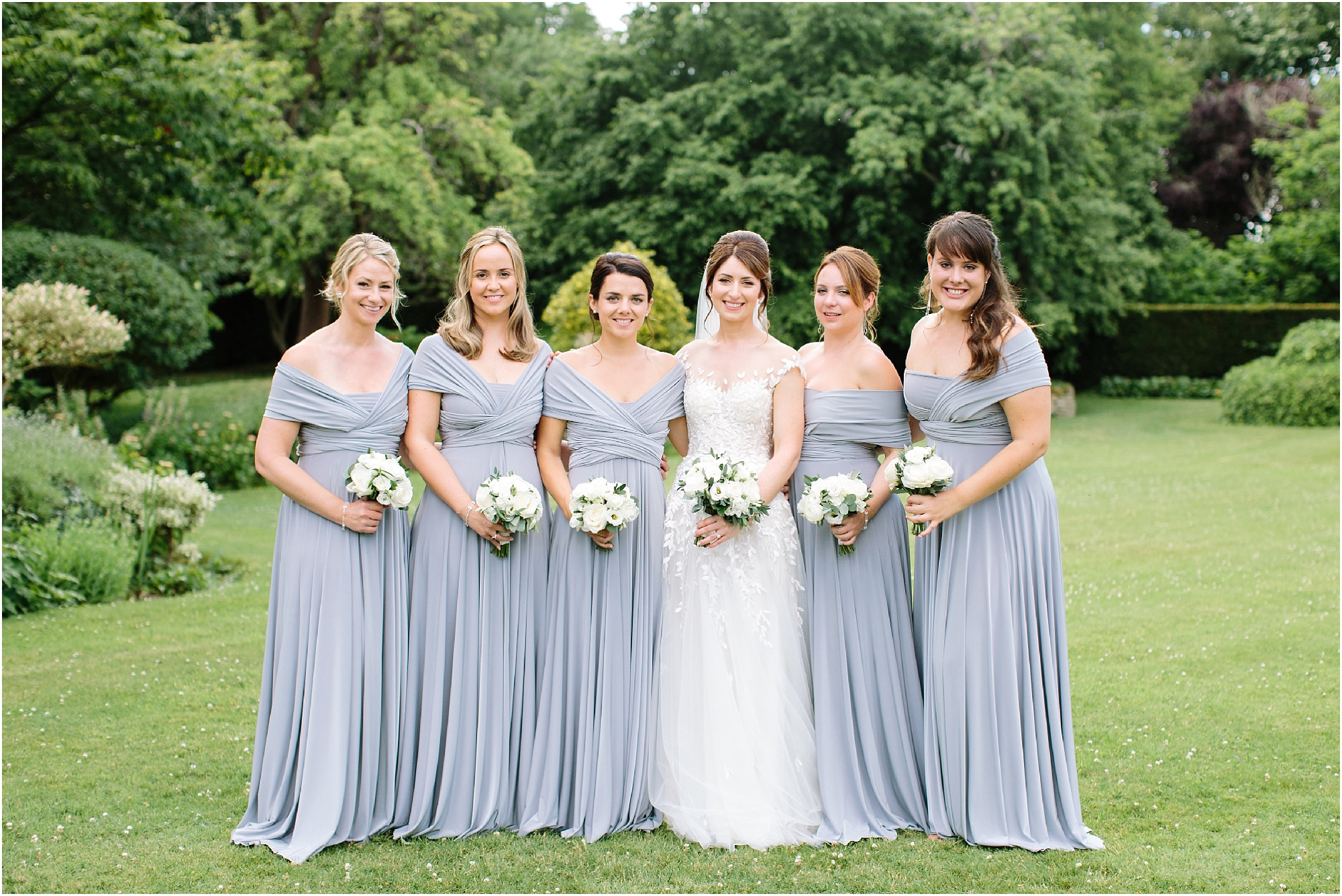 bridemaids in twobirds dresses
