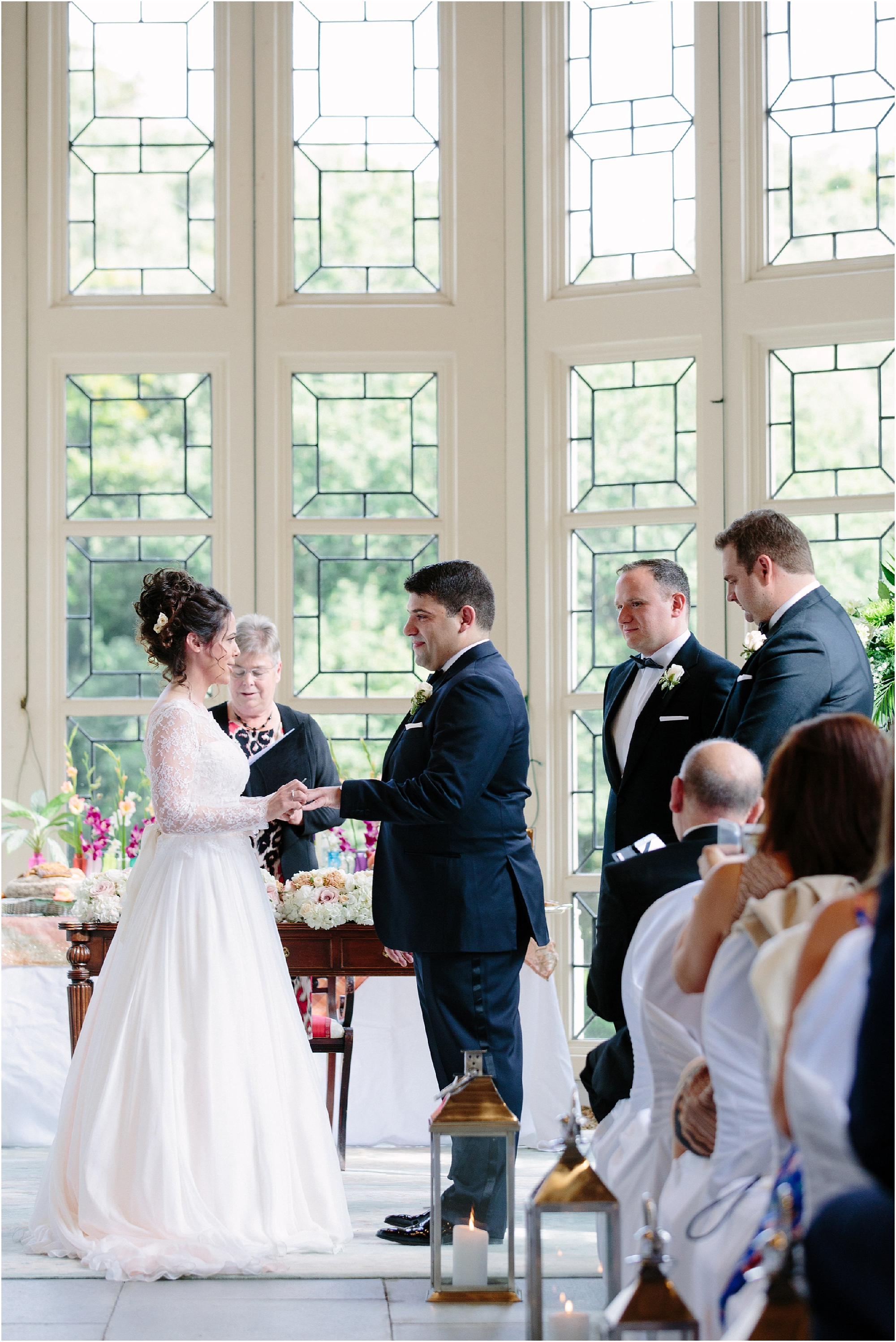 your wedding ceremony at Highcliffe Castle