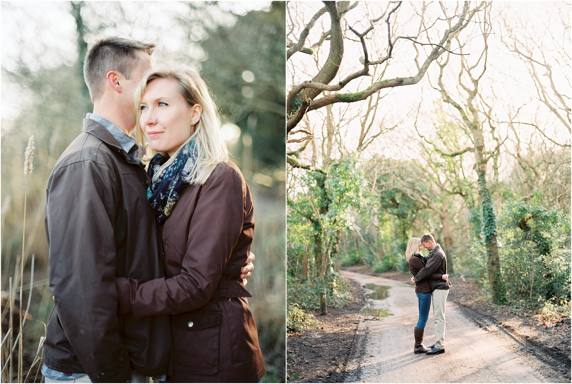 UK film photographer engagement shoot