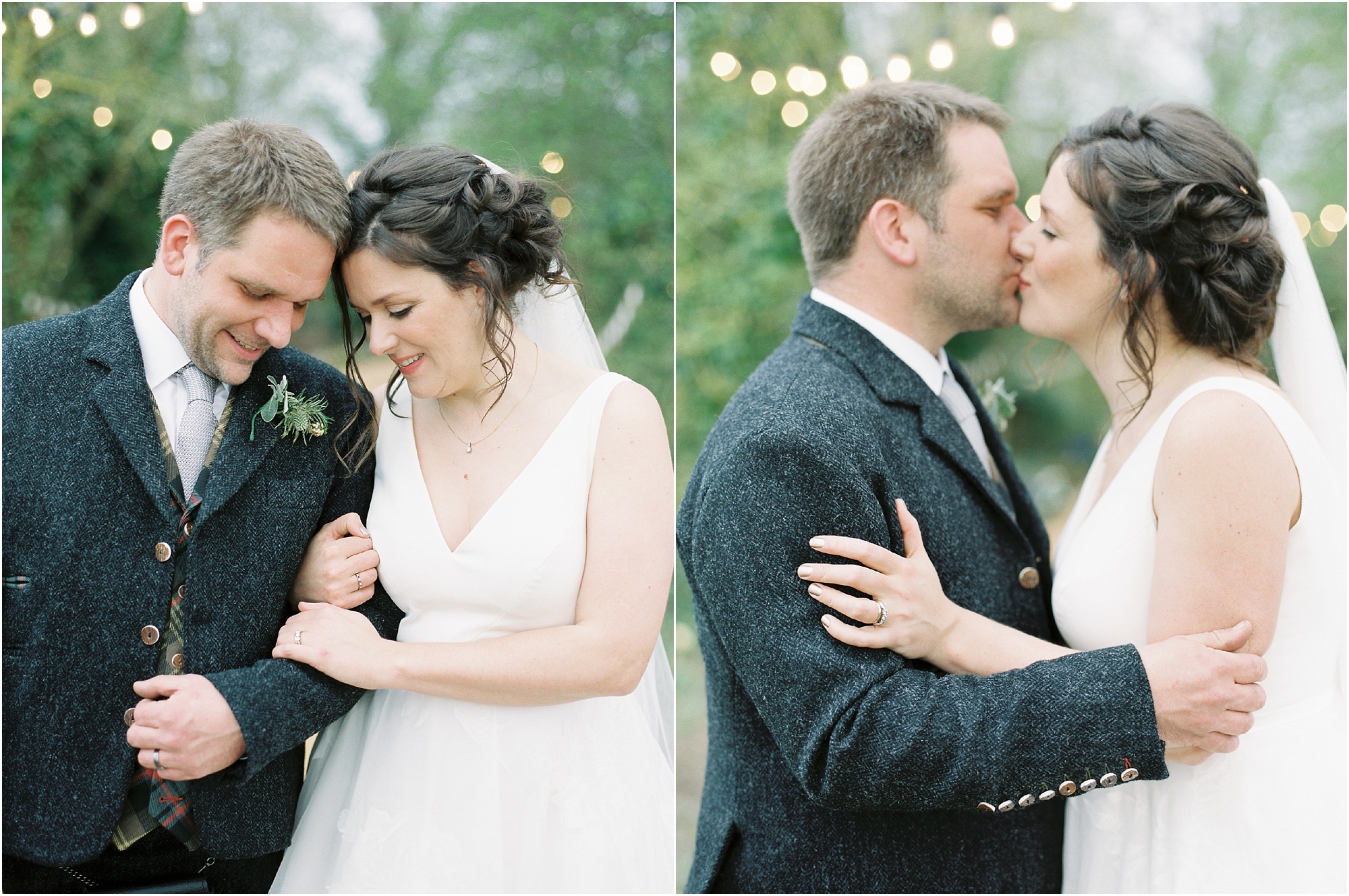 romantic bride and groom photos
