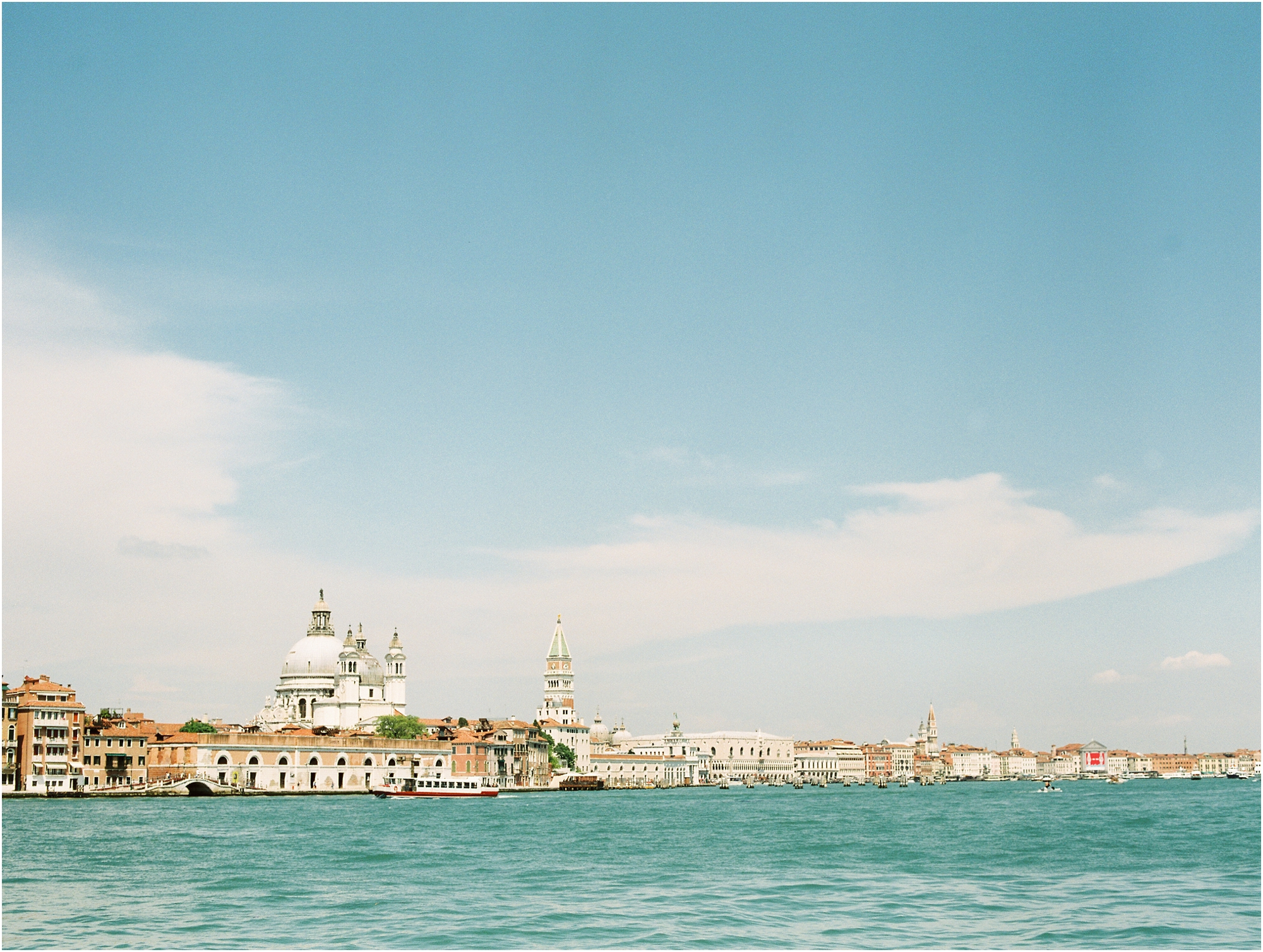 Venice Italy from the water