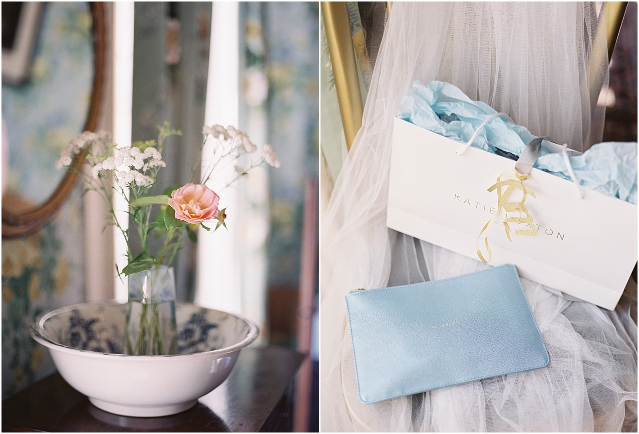 Bridesmaid's clutch bags