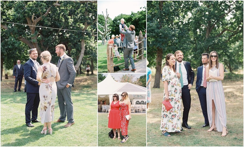 Outdoor wedding at Tournerbury Woods