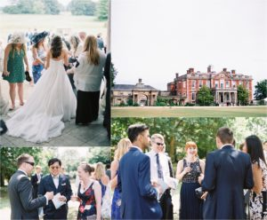 Wedding reception at Stansted House