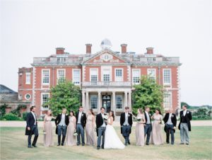 Bridal Party at Stansted House