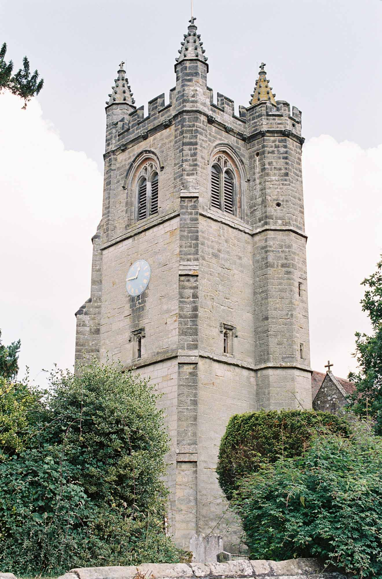 Church captured by Chiddingstone Castle wedding photographer Camilla Arnhold