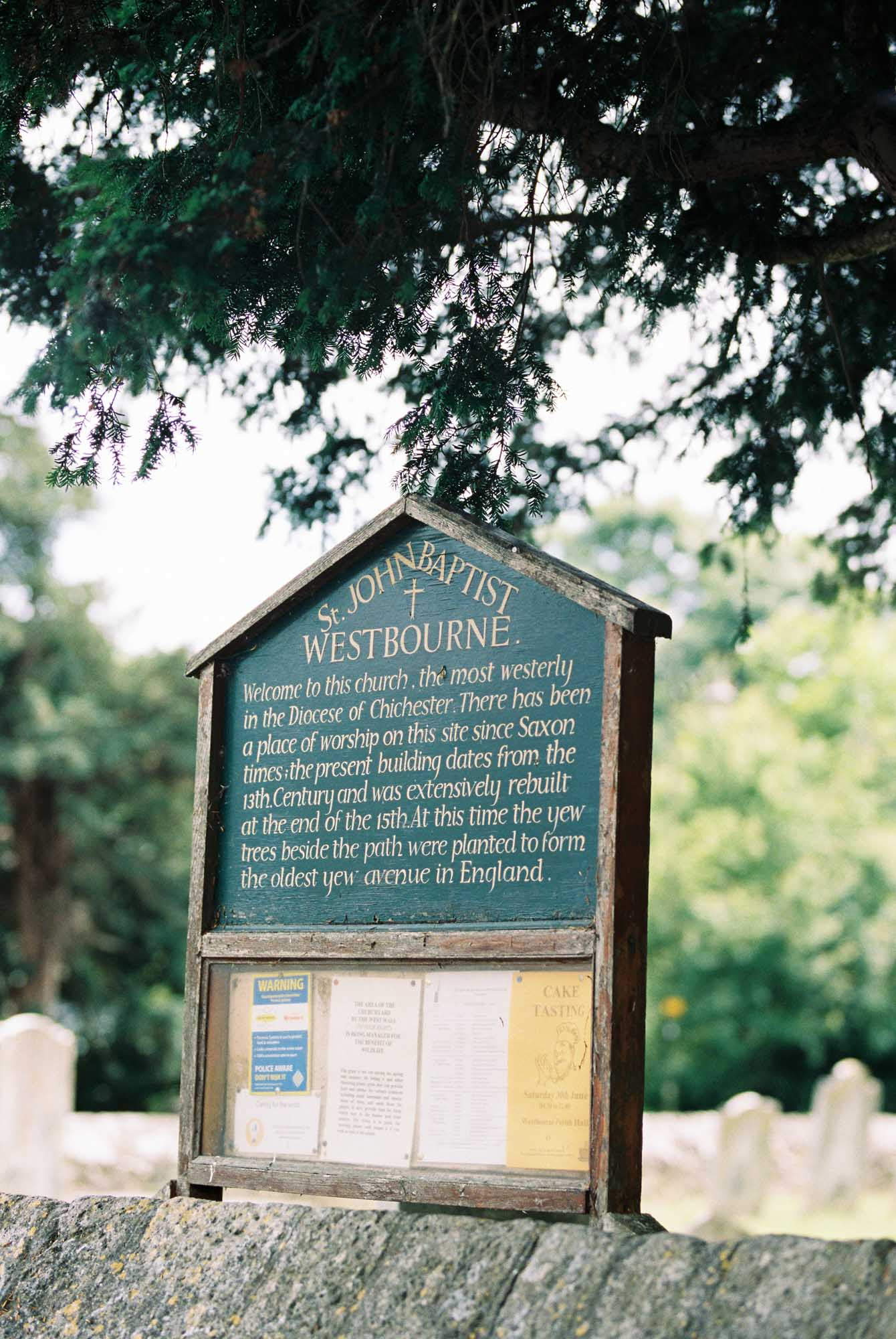 Westbourne Church in West Sussex