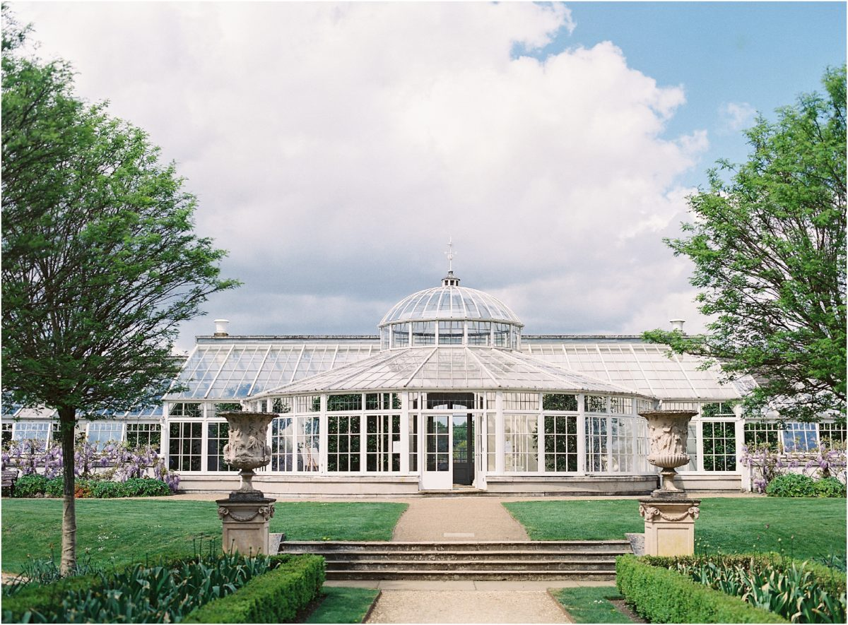 The Orangery at Chiswick House wedding