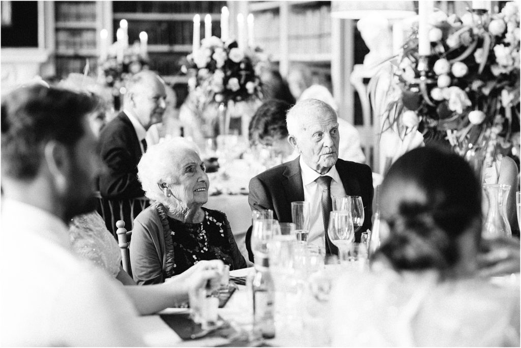 speeches at St Giles House wedding
