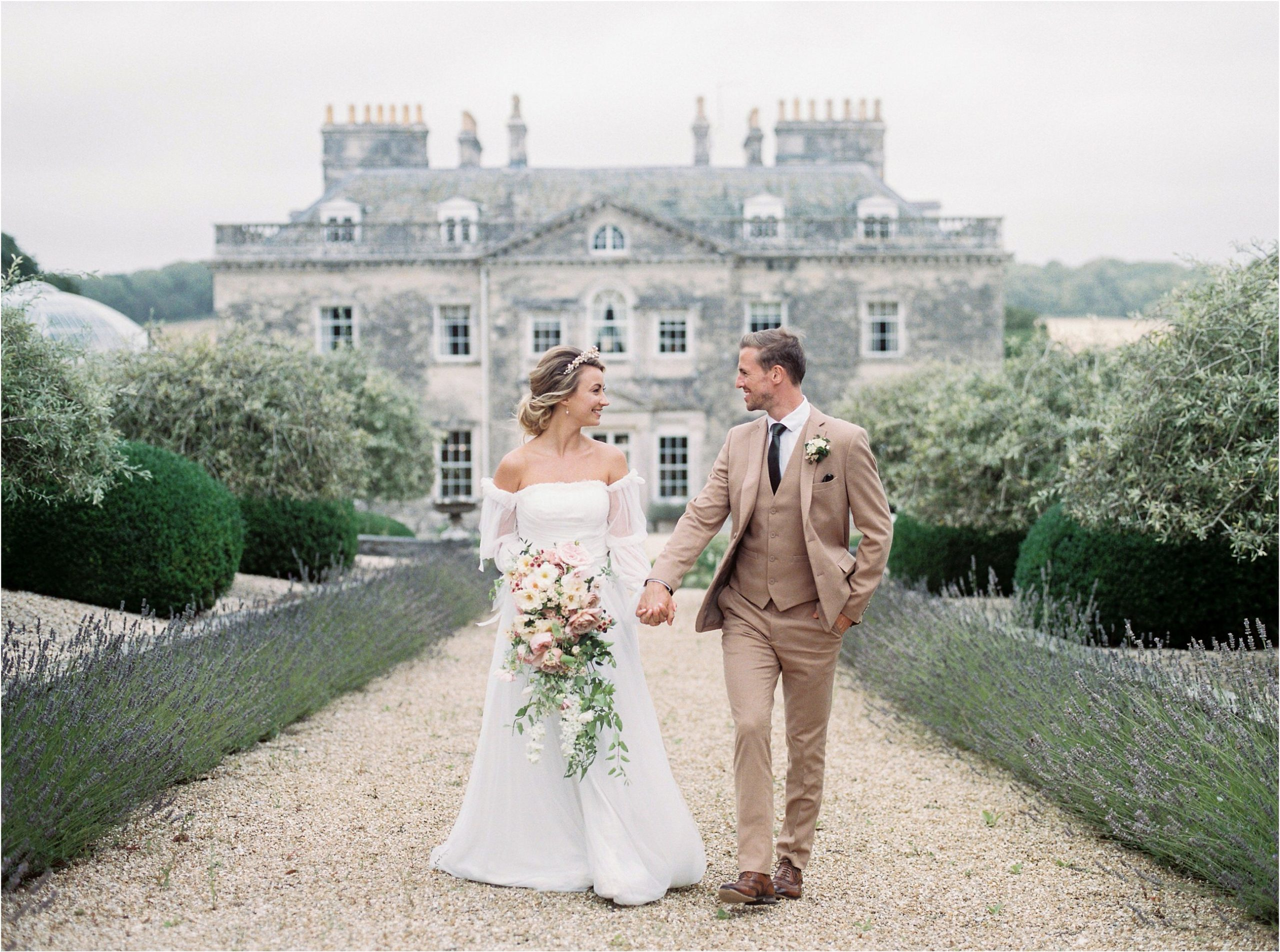 romantic film wedding photography at Came House