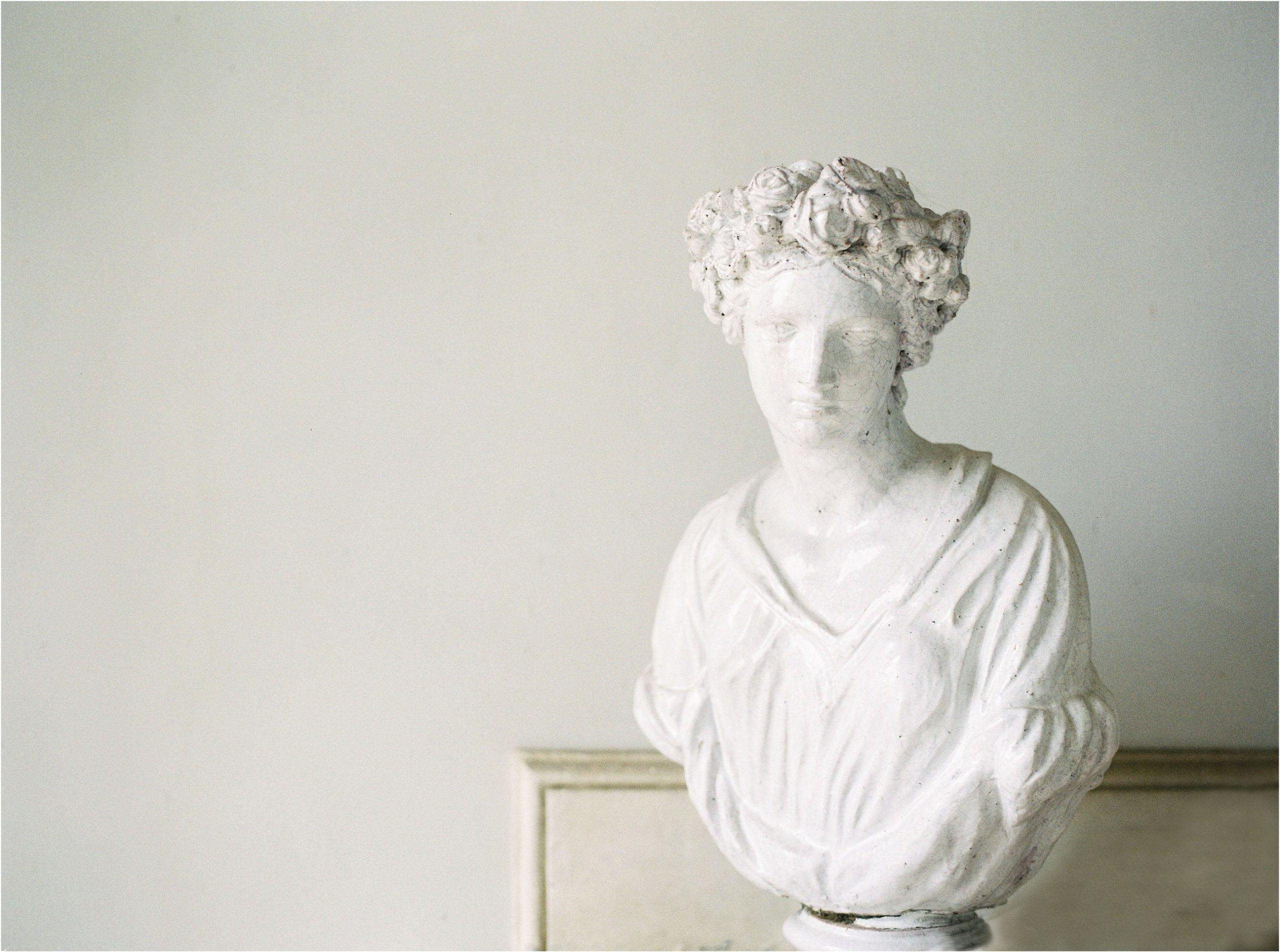 statue at Came House