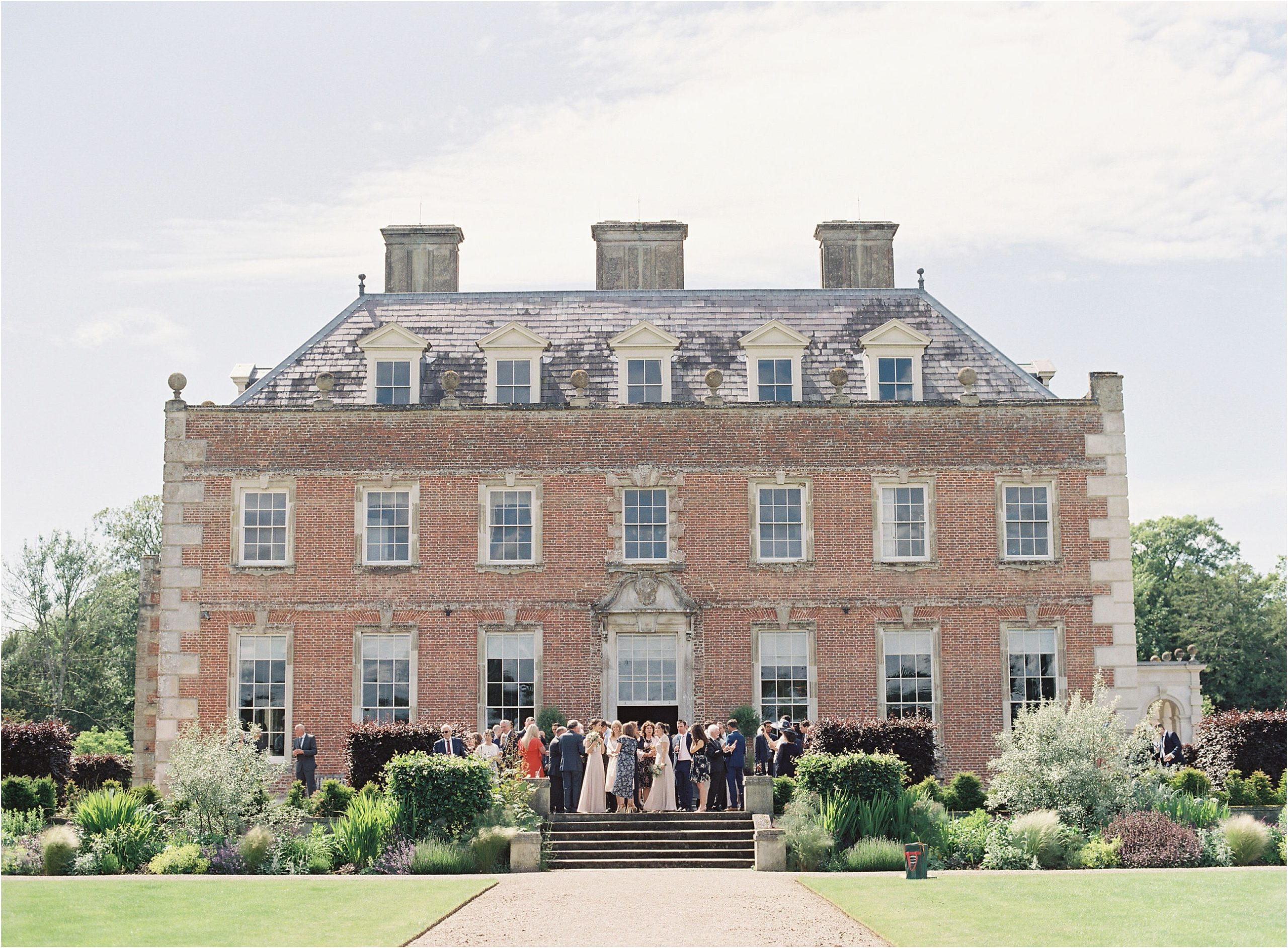 wedding at St Giles House